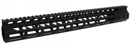 "Slim MLOK Free Float Hand Guard 15"" (USA Made)"