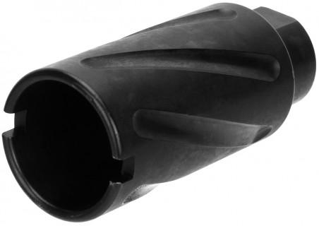 1/2x36 (9MM) Spiral Fluted Muzzle Brake<br></br> (USA Made)