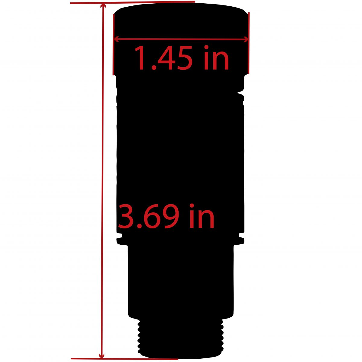 14-1 LH Thread Krinkov 3-PC Muzzle Brake (7 62x39)